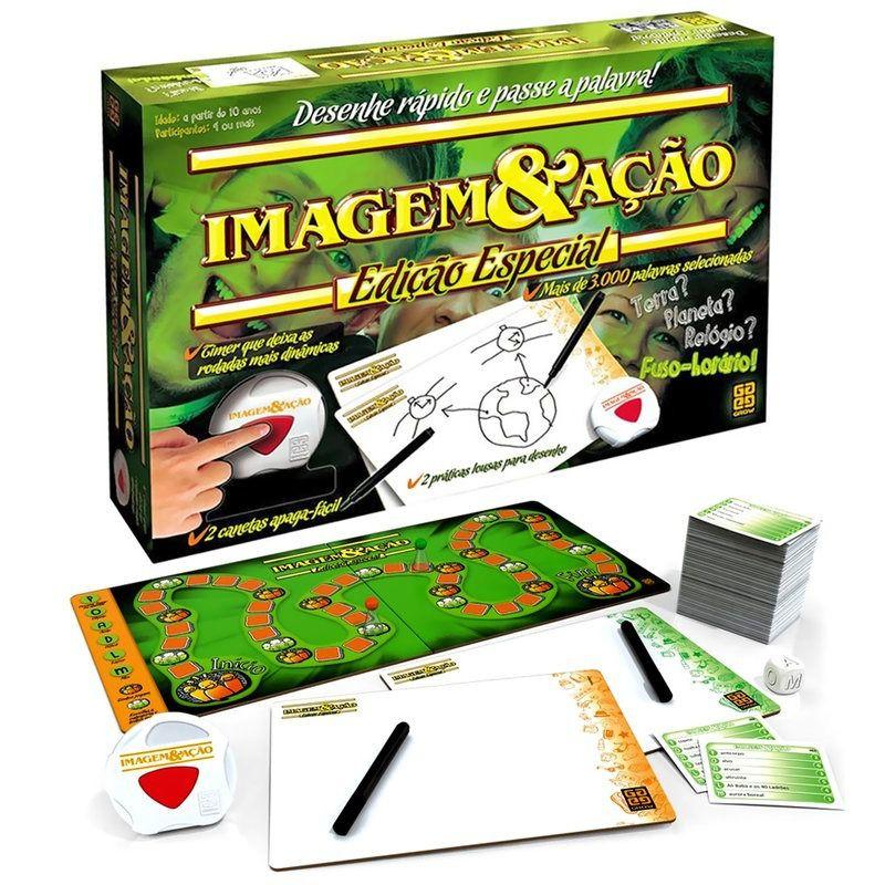 JOGO IMAGEM & AÇÃO EDIÇÃO ESPECIAL - GROW