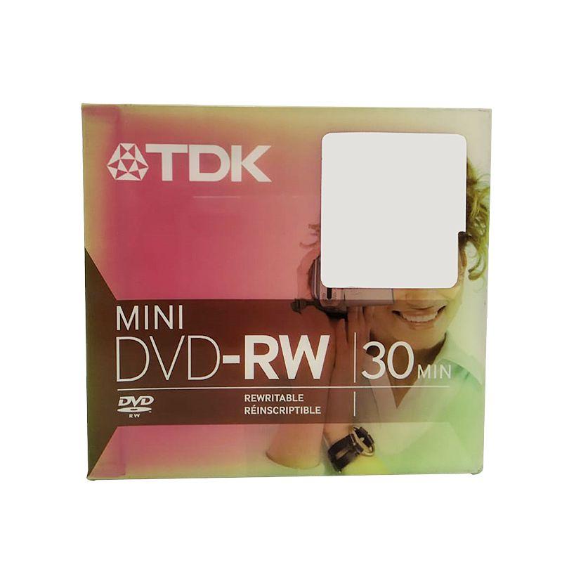 KIT 03 MINI DVD-RW 30 MIN - TDK