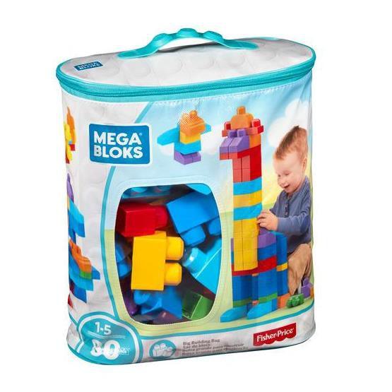 MEGA BLOKS PRÉ SACOLA 80 PC DCH63