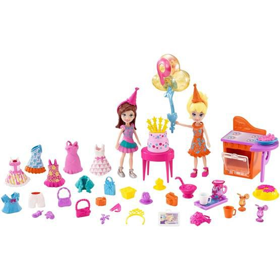 POLLY POCKET FESTA DIVERTIDA DWC24