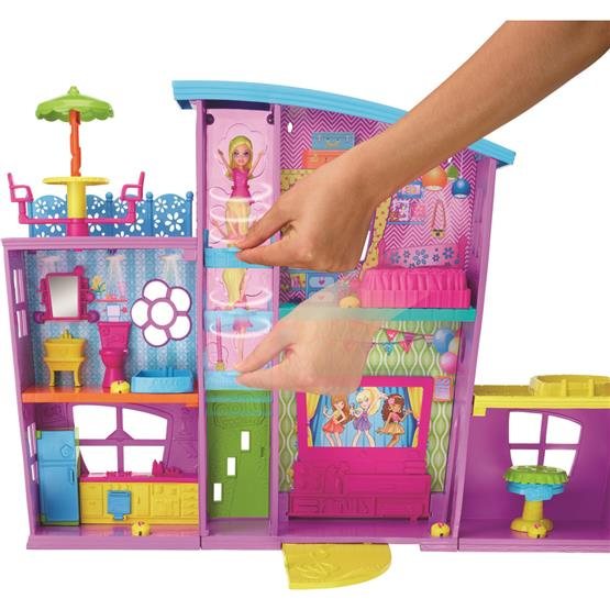 POLLY POCKET MEGA CASA DE SURPRESAS DNB25