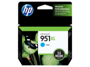 Cartucho HP 951XL Ciano Original (CN046AB) 17ml