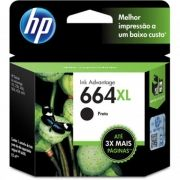 Cartucho HP F6V31AB Preto 664XL 8,5ml