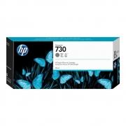 Cartucho de Tinta HP 730 CINZA P2V72A Original 300ML