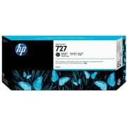 Cartucho de Plotter HP 727 Preto Fosco C1Q12A (300ML)