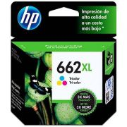Cartucho HP 662XL Color Original  CZ106AB 8,0ml