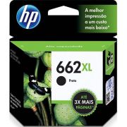 Cartucho HP 662XL Preto Original CZ105AB  6,5ml