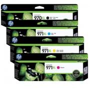 Cartucho HP 970Xl / 971Xl - Kit com as 4 cores Original