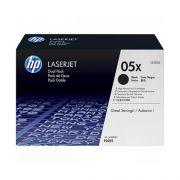 Toner LaserJet preto de alto rendimento HP 05X Original CE505X | XZ
