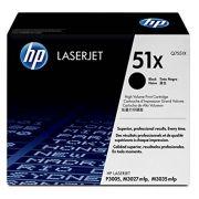 Toner LaserJet preto de alto rendimento HP 51X Original (Q7551X)