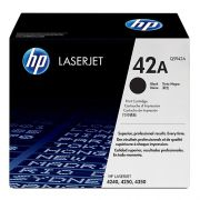 Toner LaserJet preto HP 42A Original (Q5942A)