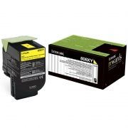 Toner Lexmark 80C8XY0 - Amarelo
