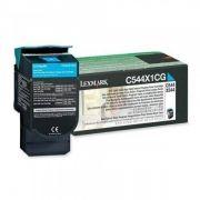 Toner Lexmark C544/X544/X548 Ciano - C544X1CG