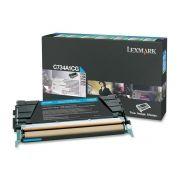 Toner Lexmark C734/6/X734/736 Ciano - C734A1CG