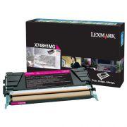 Toner Lexmark X748 Magenta - X748H1MG