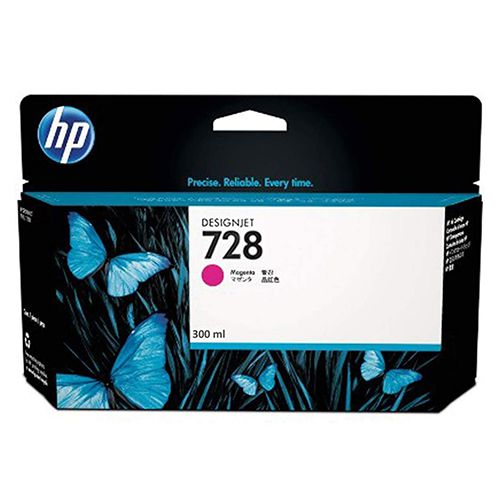 Cartucho de Plotter HP 728 Magenta 300ml F9K16A