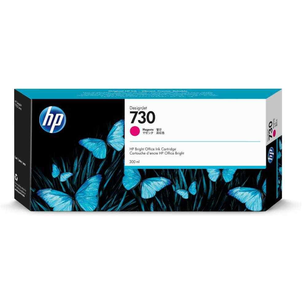 Cartucho de Plotter HP 730 Vermelho P2V69A 300ML