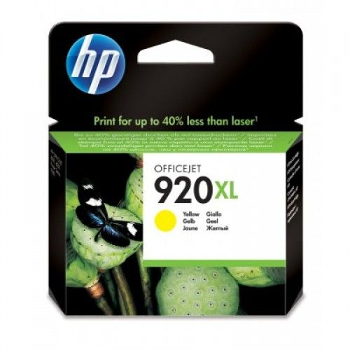 Cartucho HP 920XL Amarelo 7,5ml CD974AL ( Venc set/20)