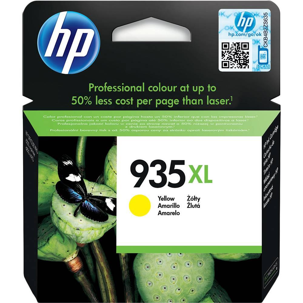 Cartucho HP 935XL Amarelo Original 9,5ml (C2P26AB) Para HP Officejet 6830, 6230