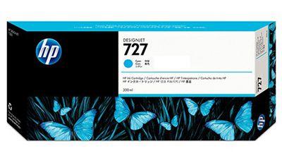 Cartucho de Plotter HP 727 Azul 300ml F9J76A