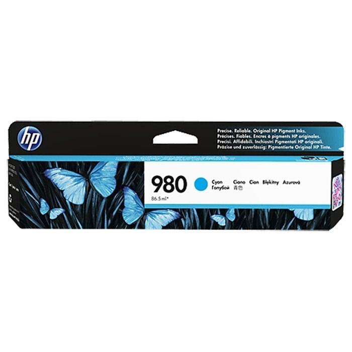 Cartucho de tinta ciano HP 980 original D8J07A 80,5ML