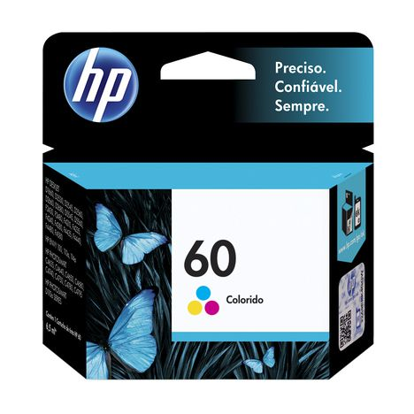 Cartucho HP 60 Color Original  (CC643WB) 6,5ml