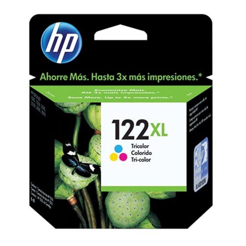 Cartucho HP 122XL Colorido CH564HB 7,5ml