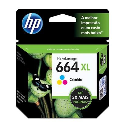 Cartucho HP F6V30AB Color 664XL 8ml