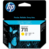 CARTUCHO DE TINTA HP 711 AMARELO CZ132A - ORIGINAL 29ML
