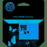 Cartucho de tinta HP 711 Ciano CZ130A - Original 29ML