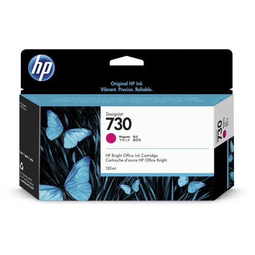 Cartucho de tinta HP 730 Magenta (130mL) P2V63A