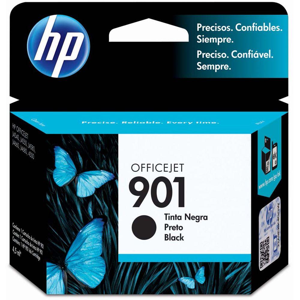 Cartucho HP 901 Preto CC653AB 4,5ml