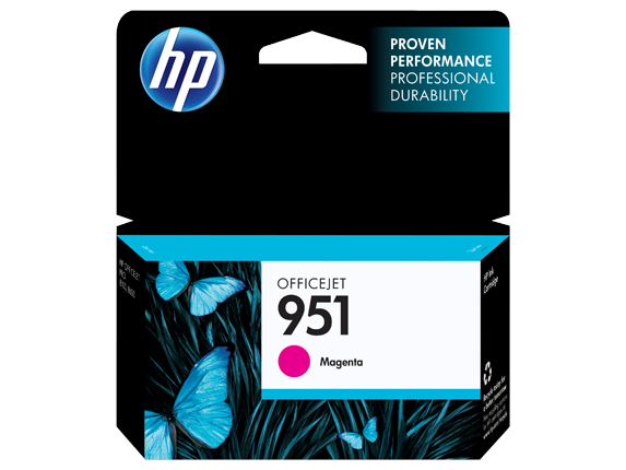 Cartucho HP 951 Magenta (CN051AB)  8ML