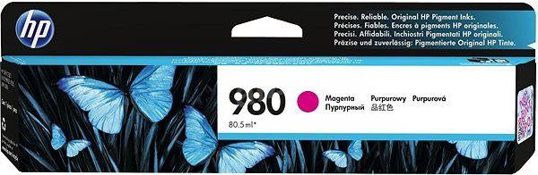 Cartucho HP 980 magenta D8J08A HP 80,5ml