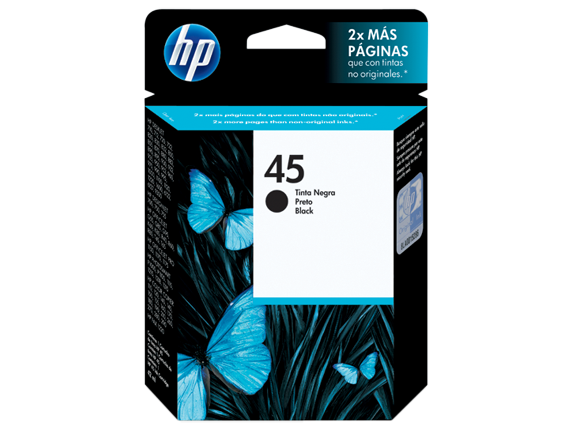 Cartucho HP 51645AL Preto 42ml -(Venc.09/2021)