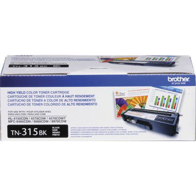 Cartucho de Toner Brother TN-315BK Preto