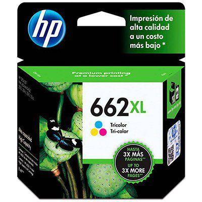 Cartucho HP 662XL Color Original  CZ106AB 8,0ml