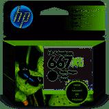Cartucho HP 667XL preto 3YM81AL HP  8,0ML