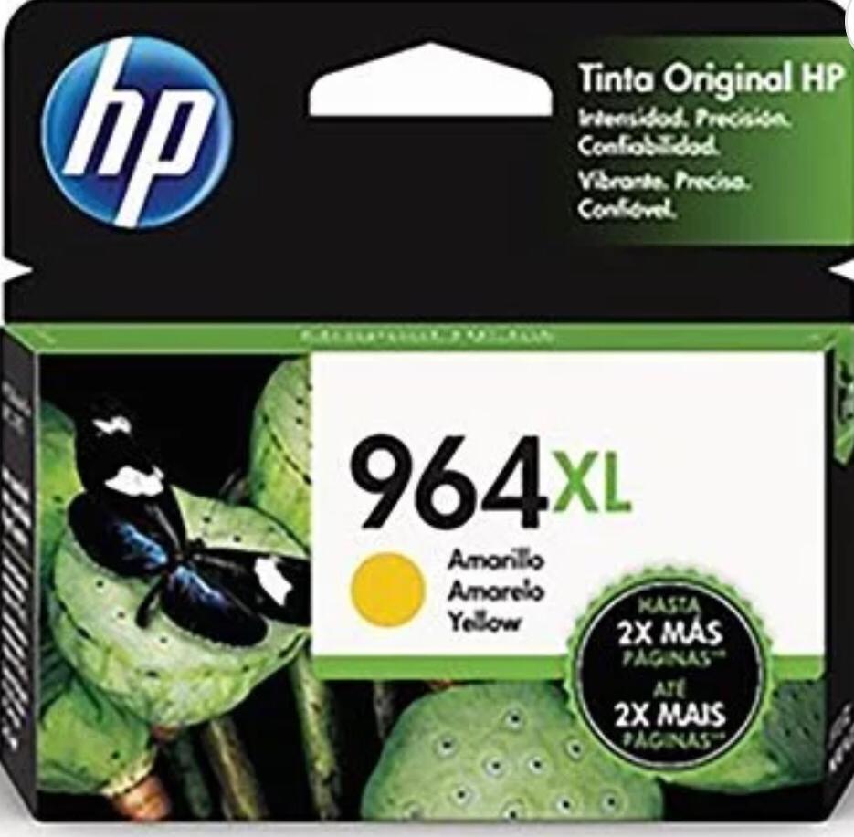 Cartucho HP 964XL amarelo 3JA56AL HP -24,5ml-