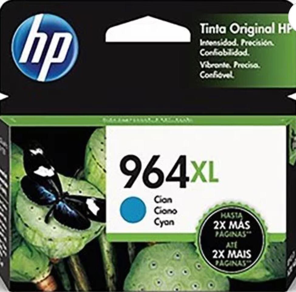 Cartucho HP 964XL ciano 3JA54AL HP - 24,5ml