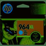 Cartucho HP 964XL ciano 3JA54AL HP - 24,6ml