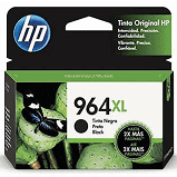 Cartucho HP 964XL preto 3JA57AL HP - 51,5ml