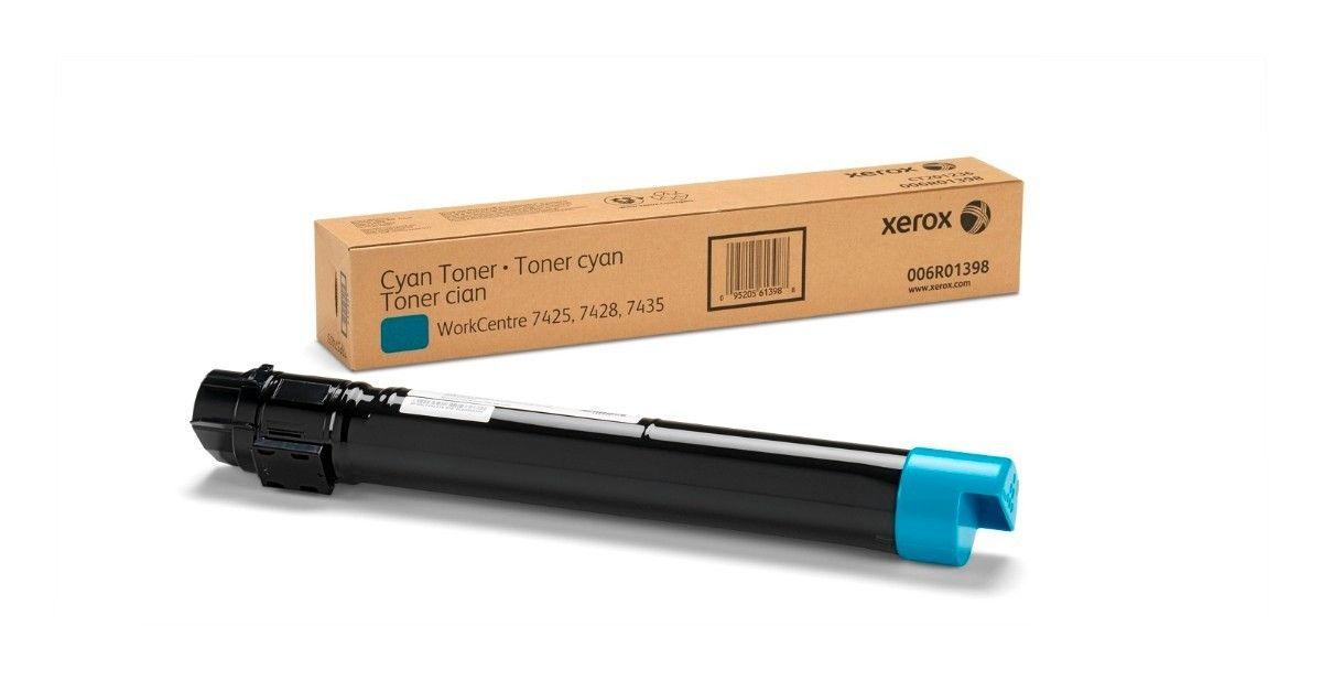 Cartucho Toner Xerox WorkCentre 7120/7125/7220/7225 - Ciano - 006R01464 - 15K