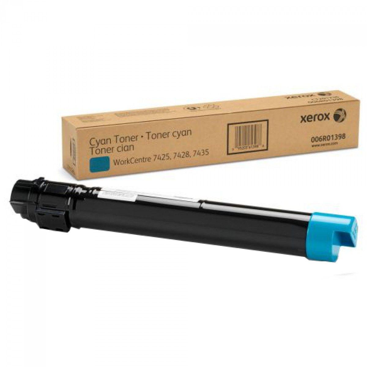 Cartucho Toner Xerox WorkCentre 7535/7556/7830/7835/7970 - Ciano - 006R01520 - 15K