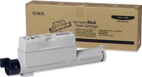 Cartucho Toner Xerox Phaser 6360 - Preto - 106R01221 - 18K