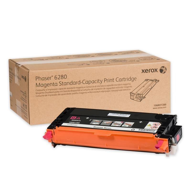 Cartucho Toner Xerox Phaser 6280 - Magenta - 106R01401 - 5,9K