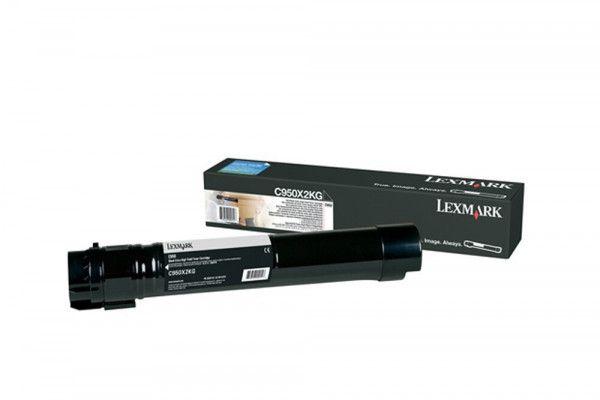 Cartucho Toner Lexmark C950 - 32K - Preto - C950X2KG