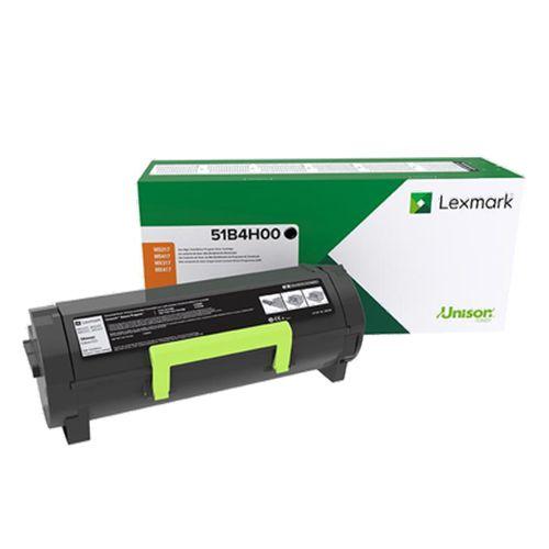 Cartucho Toner Lexmark Preto Alto Rendimento 8,5K MS417/MS517 - 51B4H00