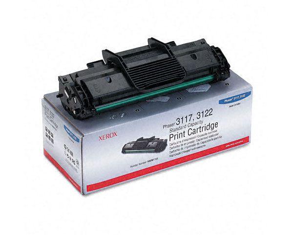 Cartucho Toner Xerox Phaser 3117 / 3122 / 3124 / 3125 Preto - 106R01159 - 3K