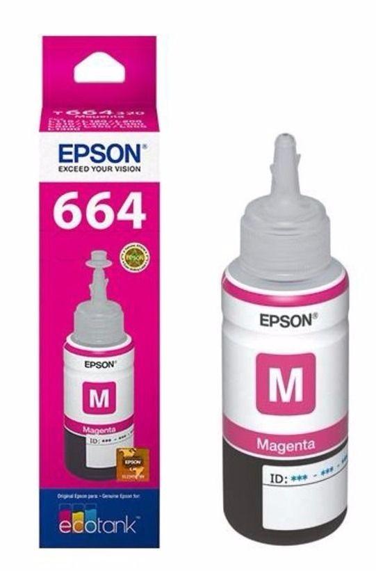 Refil Epson T664320 Magenta L200/L110/L355